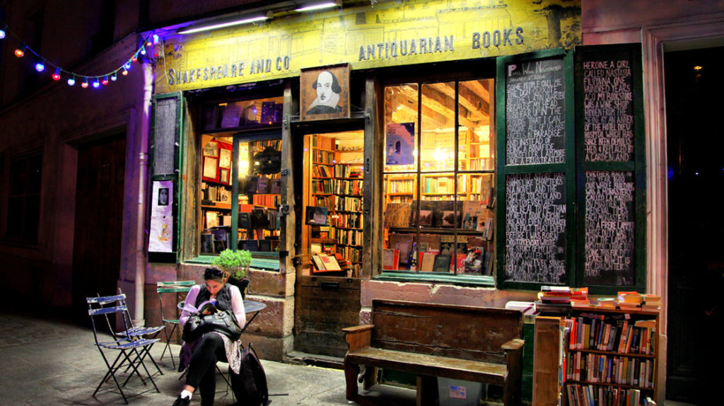 Shakespeare and Company — one of Paris' many independent bookstores